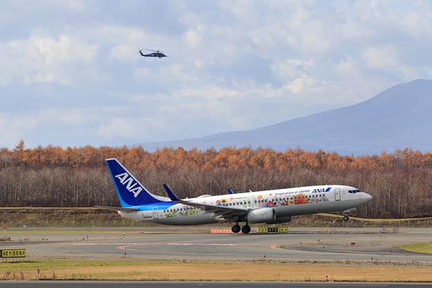 Boeing737 ANA JA85AN takeoff