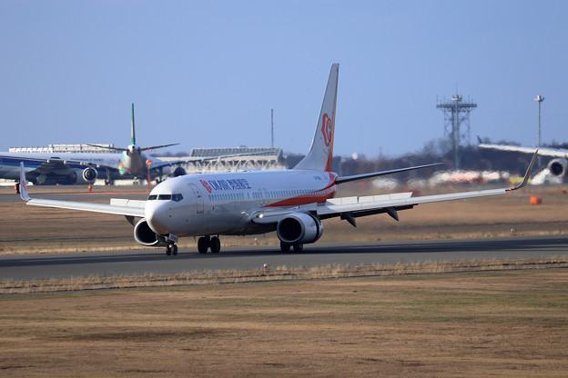 Boeing737 Okair 就航