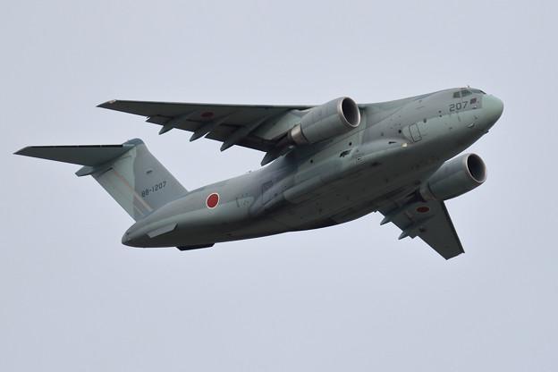 Kawasaki C-2 88-1207 403sq takeoff