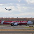 Photos: A330neo HS-XJBとKawasaki C-2 203