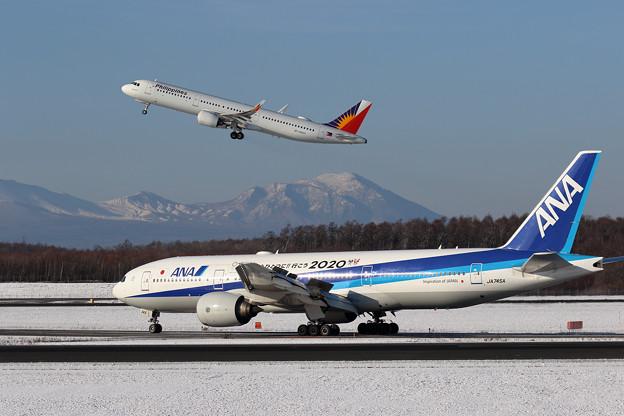 A321neo PAL RP-C9933 takeoff