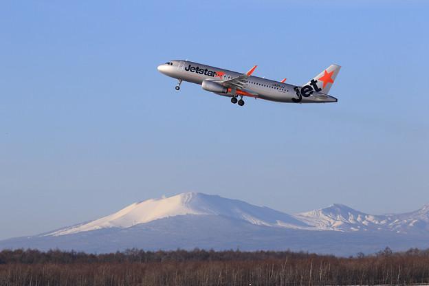 A320 JJP JA25JJ takeoff