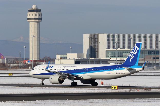 A321neo ANA JA140A 到着