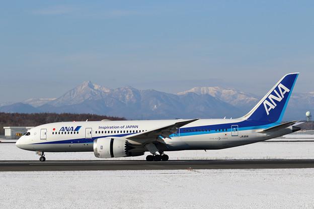 Boeing787 ANA JA811A 到着