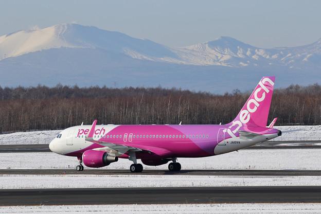 A320 Peachカラーになった JA10VA