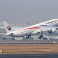 Photos: A330 MAS8539 9M-MTM takeoff