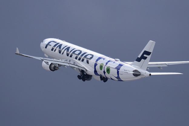 A330 新規就航したFinnairの初便 OH-LTO (4)