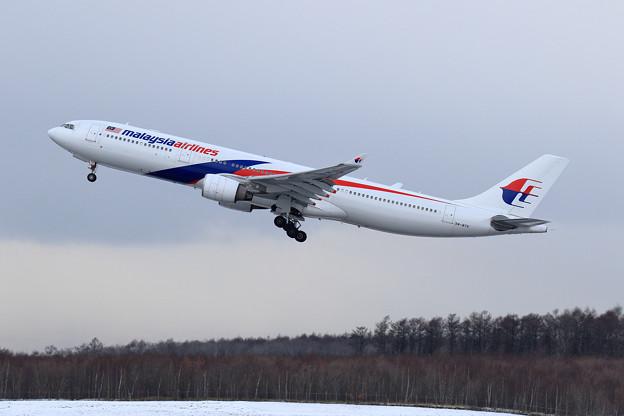 A330 MAS8539 9M-MTK takeoff