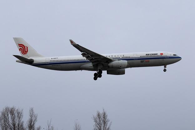 A330 AirChina 50機目の機体 B-5977 (1)