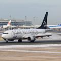 Photos: Boeing737 ANA JA51AN landing(1)