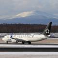 Photos: Boeing737 ANA JA51AN landing(2)