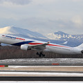 Photos: A330 MAS 9M-MTA takeoff