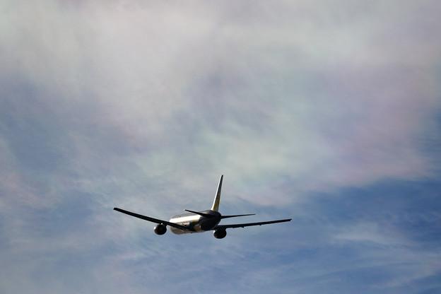 Boeing767 彩雲の空