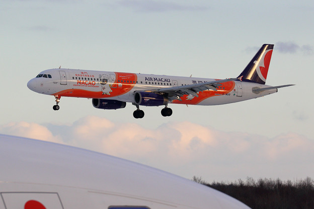 A321 AIR MACAO B-MBB appoach