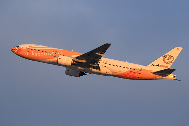 Boeing777 Nokscoot HS-XBE takeoff