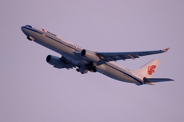 A330 Air China B-8386 takeoff