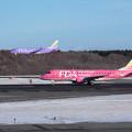 Photos: ERJ-175 FAD ピンクとバイオレット