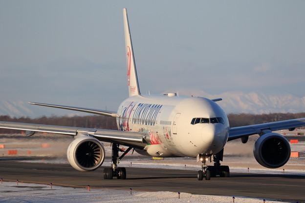 Boeing777 JAL TOKYO2020 Jet