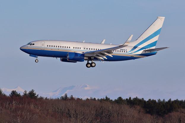 Boeing737BBJ LAS VEGAS SANDS N883LS