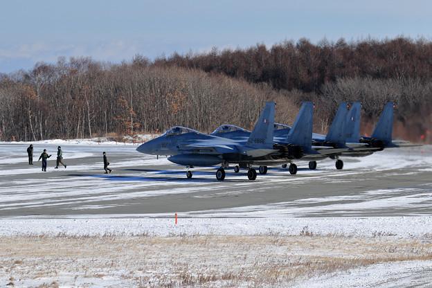 F-15 203sq 訓練へ (1)