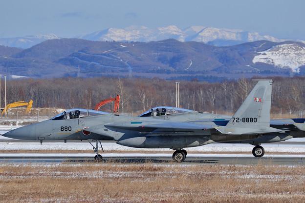 F-15 203sq 訓練へ (3)