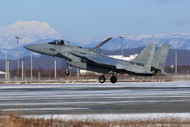 F-15 203sq 訓練からRTB
