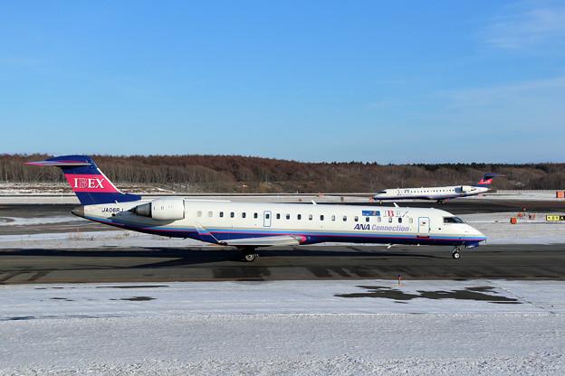 CRJ700 IBEXが2機