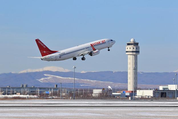Boeing737 EastarJet HL8057 takeoff