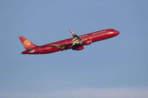 A321 吉祥航空 B-8317 takeoff