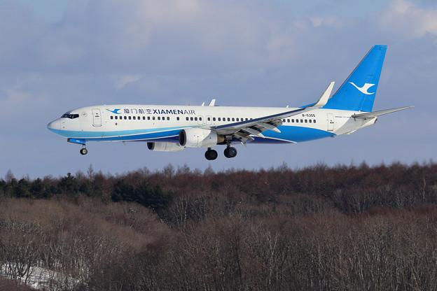 Boeing737 XIAMEN Air B-5355 approach