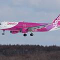A320 Peach JA11VA approach