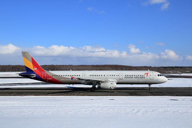 A321 ASIANA Airlines HL8257