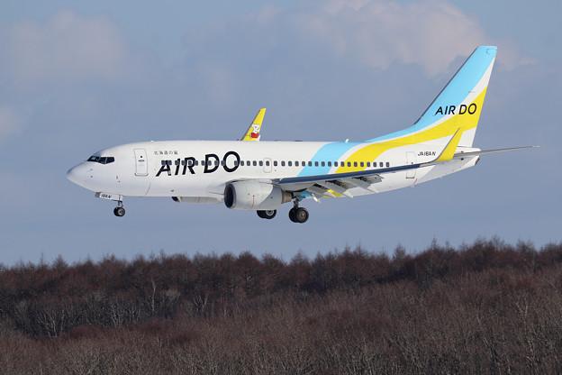 Boeing737 AIR DO JA16AN approach