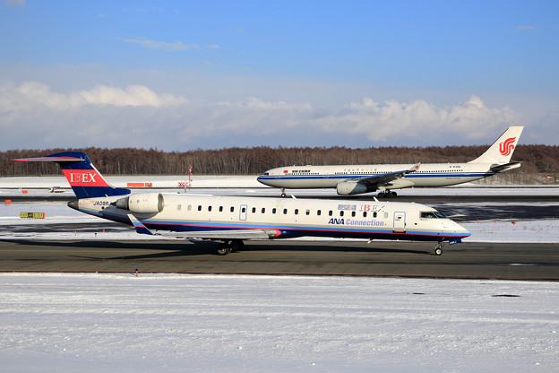 CRJ700 IBEXとA330 CCA