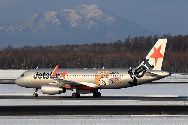 A320 Jetstar  にゃんこ大戦争 ラッピング JA17JJ(1)