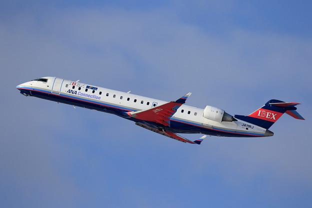 CRJ700 IBEX JA11RJ takeoff