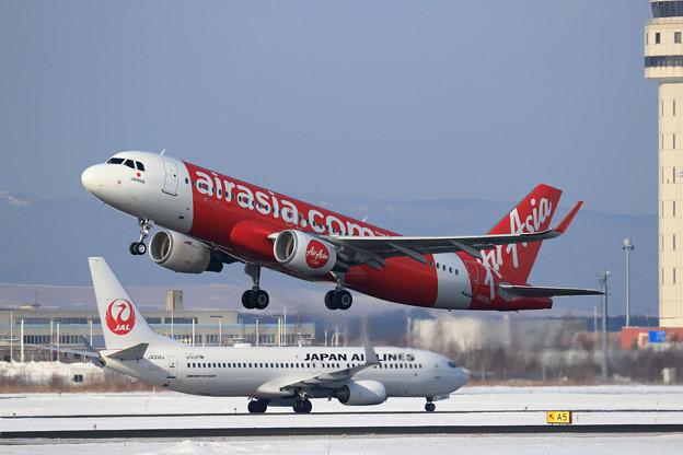 A320 AirAsia Japan JA03DJ takeoff