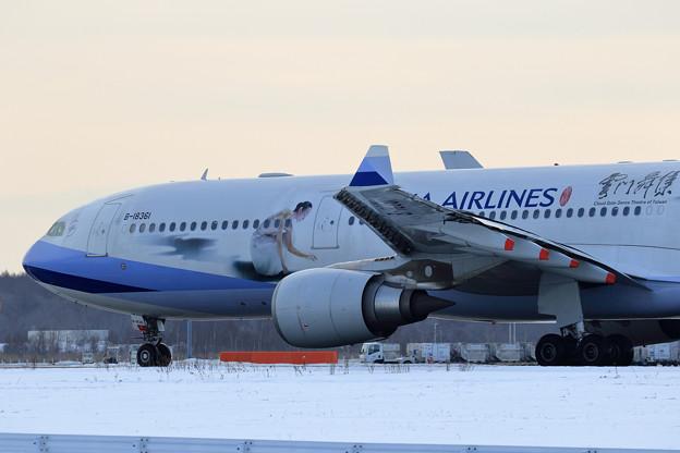 A330 China Airlines B-18361 曇門舞集