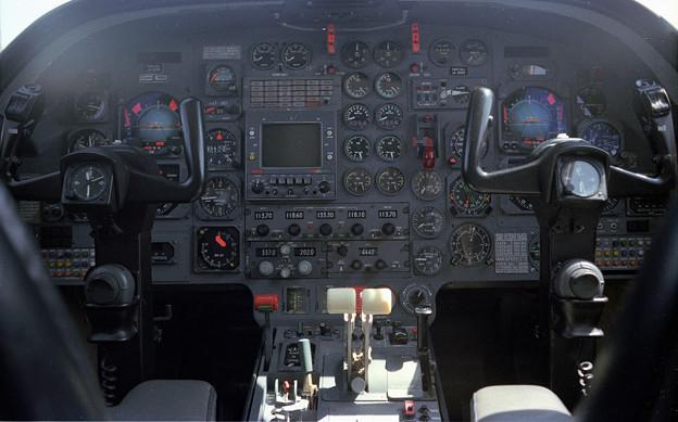 Falcon10 JA8463 SONY Cockpit 1982