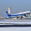 Boeing777 ANA JA742A takeoff