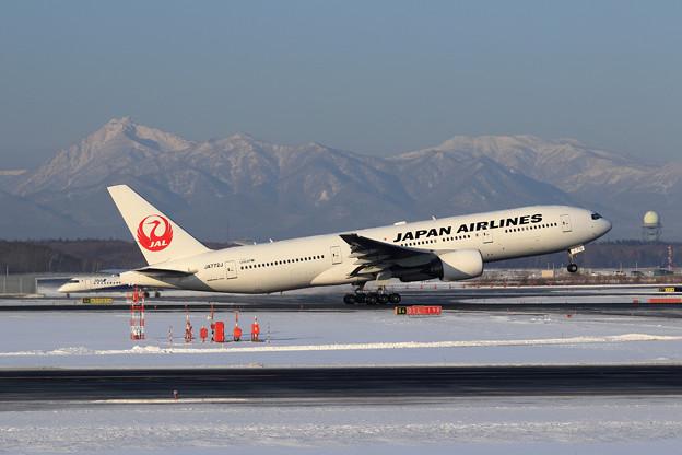 Boeing777 JAL JA772J takeoff