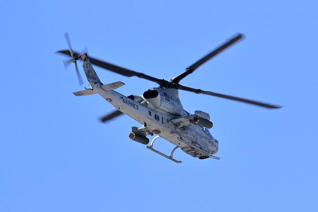 AH-1Z 168961 HMLA-369 approach to Rwy36L