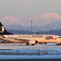 Boeing737 山東航空 B-5111 Newtaxiwayへ