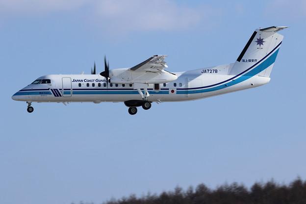 Q300 JCG JA727B おおわし approach