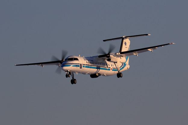 Q300 JCG JA724A おおわし approach
