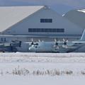 Photos: C-130R 9054 61FS JMSDF 飛来 (1)