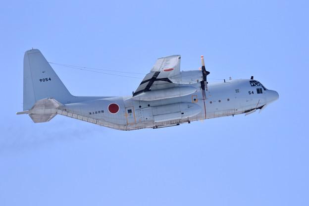 C-130R 9054 61FS JMSDF 飛来 (3)