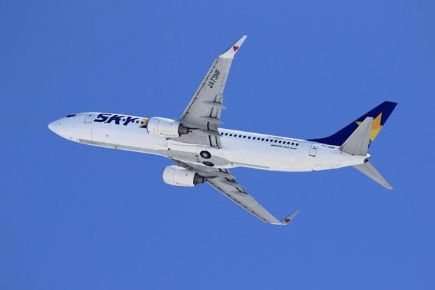 Boeing737 SKY JA73NF takeoff