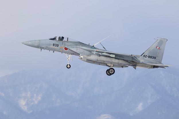 F-15J 839 203sq landing