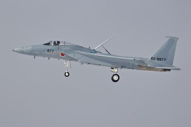 F-15J IRANあけの877 landing
